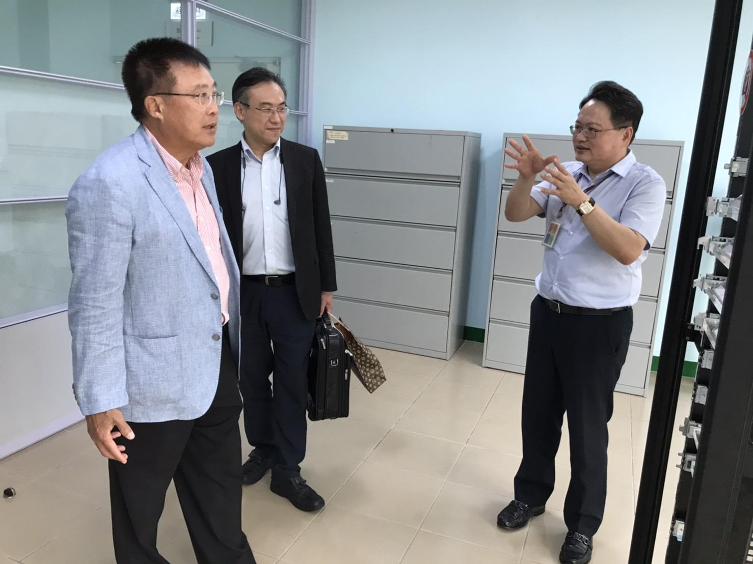 Welcome KD Tseng, Chairman of Management Intelligence Sharing Association to visit Martas