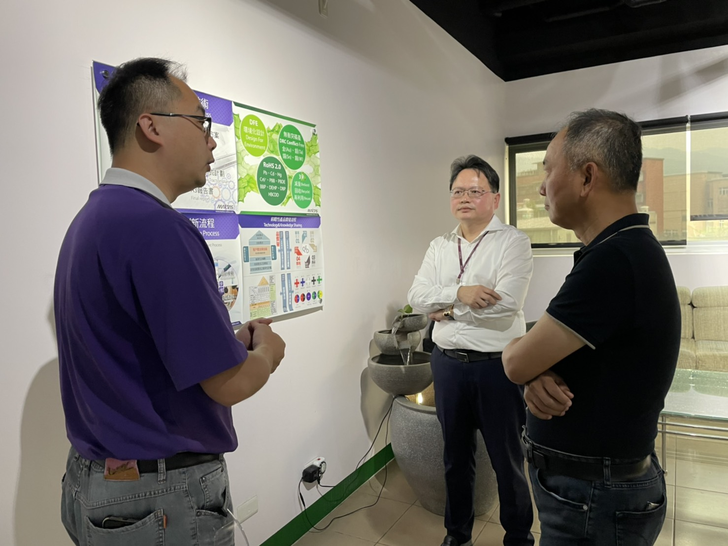 Welcome Jason Juang, Greater China MD of HP information technology Ltd. to visit Martas